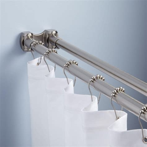 tension curtain rods installing tension curtain rod the homy design