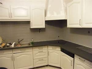 Peindre Faience Cuisine : r nover une cuisine comment repeindre une cuisine en ch ne mes meilleures recettes faciles ~ Melissatoandfro.com Idées de Décoration