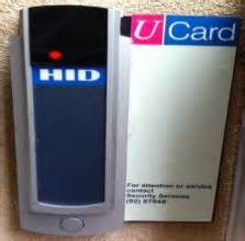 hid card reader blue light ucard readers security services university of bristol