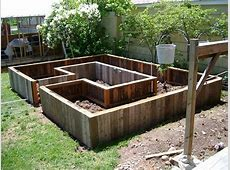 Learn How to Build A UShaped Raised Garden Bed Home
