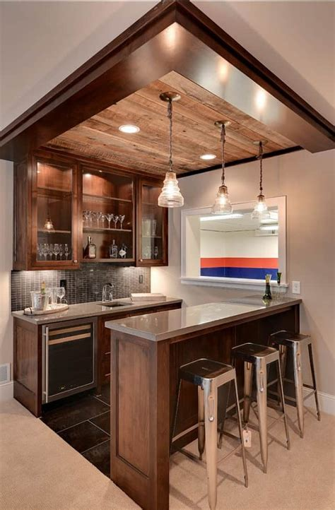 Bar Ideas by 43 Insanely Cool Basement Bar Ideas For Your Home