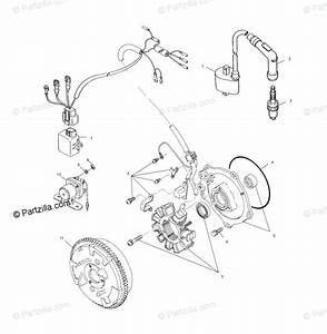 Polaris Atv 2002 Oem Parts Diagram For Magneto