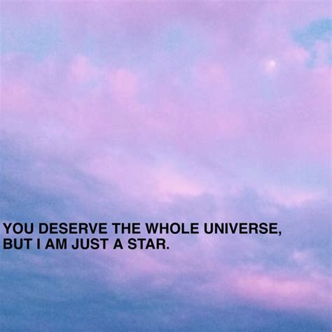 aesthetic love love quote moon pink purple quote