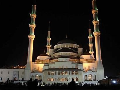 Ankara Mosque Kocatepe Turkey Mosques Wallpapers Gold