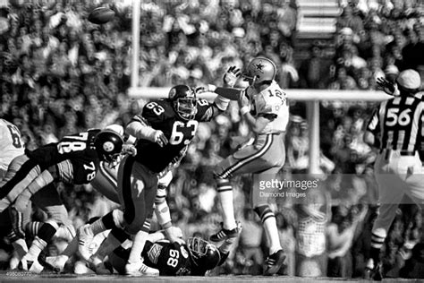 Super Bowl X Memories Roger Staubachs Big Mistake Dc Vault