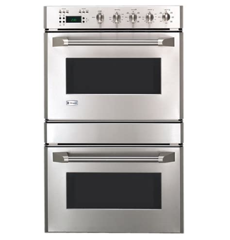 ge monogram  professional style double wall oven zetpfss ge appliances