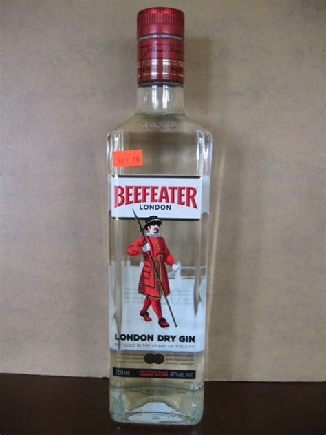 beefeater london dry gin ml honest booze reviews