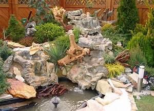 Plantes Vivaces Autour D Un Bassin : cascade bassin de jardin 27 id es cr er votre havre de paix ~ Melissatoandfro.com Idées de Décoration