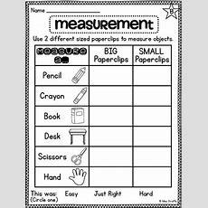 First Grade Math Unit 14 Measurement By Miss Giraffe Tpt