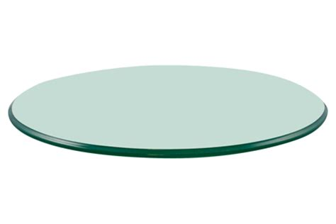 36 round glass table top 36 quot round glass table top 3 8 quot thick pencil polished