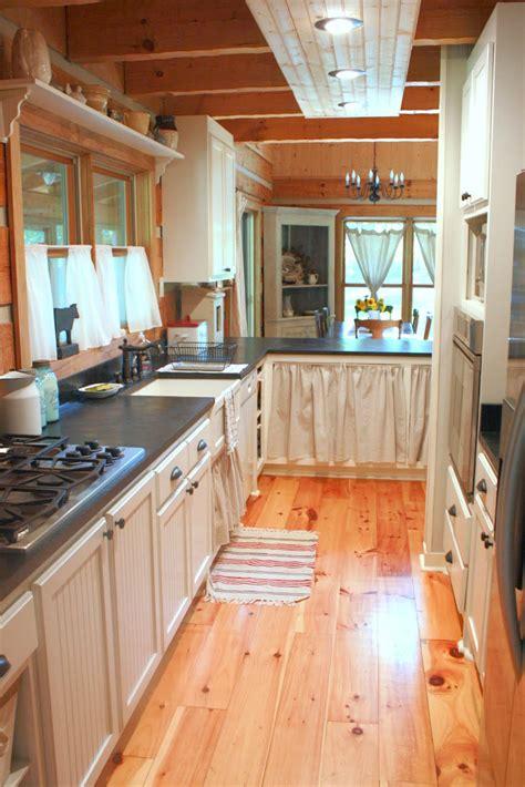 narrow kitchen designs carolina country living house tour the kitchen 1037