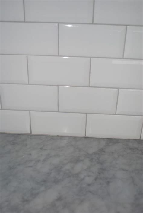 white subway tile with gray grout kitchen luxury white subway tile grey grout kezcreative 2221
