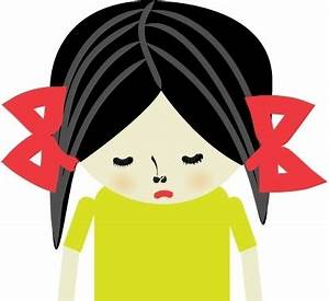 Sad girl Free vector in Adobe Illustrator ai ( .ai ...