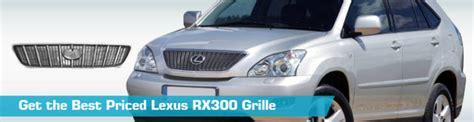 accident recorder 2000 lexus rx spare parts catalogs lexus rx300 grille grill action crash 2001 2002 2003 2000 01 02 03 00 partsgeek com