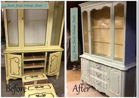 Hutch Painting Ideas by 15 Before And After Painted Furniture Ideas Farm Fresh