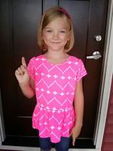 The biggest girl in first grade