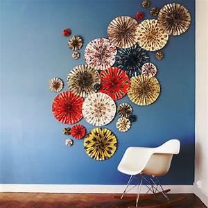 Diy Deco Murale : faire de la d co avec du papier cadeau ~ Dode.kayakingforconservation.com Idées de Décoration