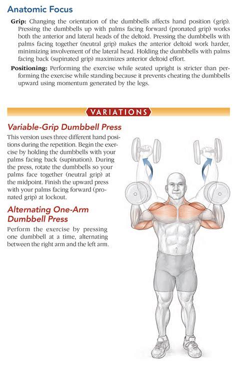 Bodybuilding Anatomy-2nd Edition: Dumbbell Shoulder Press