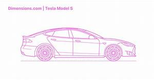 Tesla Model S Dimensions & Drawings | Dimensions.com