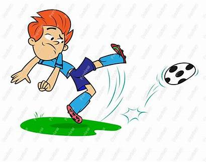 Playing Soccer Clipart Sports Clip Children Play