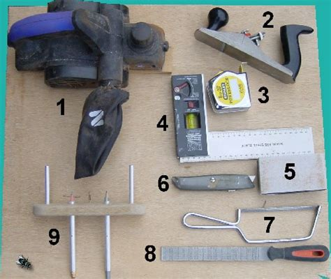 woodwork wood tools list  plans
