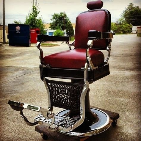 Koken Barber Chair Models by Custom Made 1920 S Koken Barber Chair Restoration By