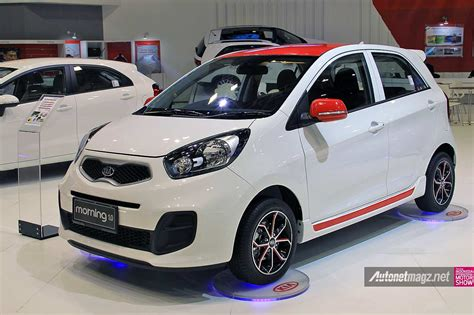 Modifikasi Kia by Modifikasi Kia Picanto Morning Warna Putih Special Edition