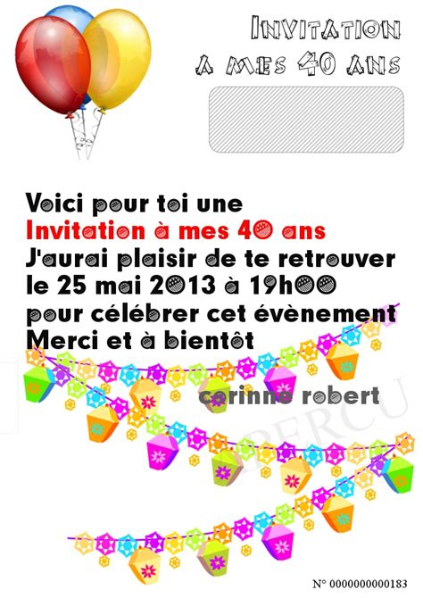 Invitationames40ans