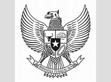 Download logo Garuda Pancasila BW Hitam Putih vector cdr