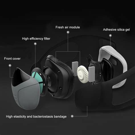 aodma electric face mouth mask pm electric respirator