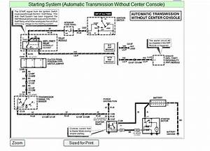 1999 Ford Explorer Starter Wiring Diagram