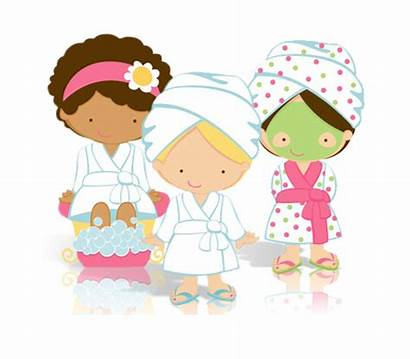 Spa Clipart Pampered Being Ladies Glam Party
