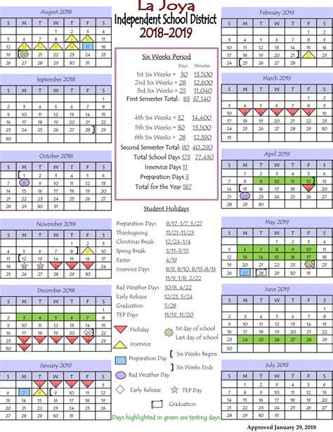 la joya isd ljisd calendar