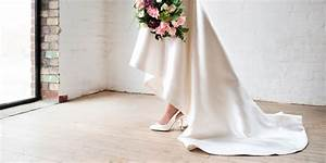 perfect wedding shoes are unique when mixed with a With wedding dress with sneakers