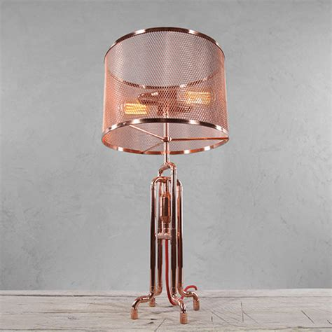 Copper Pipe Lamp Lighting Ceiling Fans