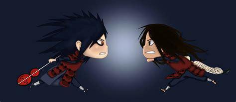gambar anime epic 33 gambar senju hashirama vs madara uchiha epic battle