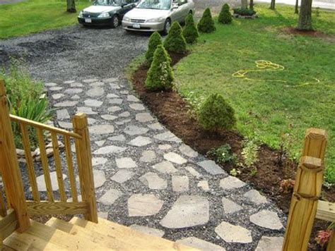 Cheap Driveway - cheap idea driveway landscaping made sure that the slate