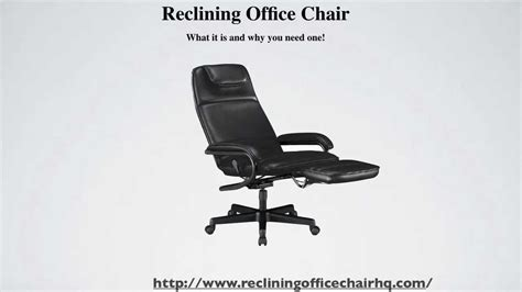 The Terrific Awesome Reclining Office