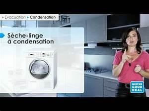 Seche Linge Condensation Ou Evacuation : bien choisir mon s che linge evacuation ou condensation ~ Melissatoandfro.com Idées de Décoration