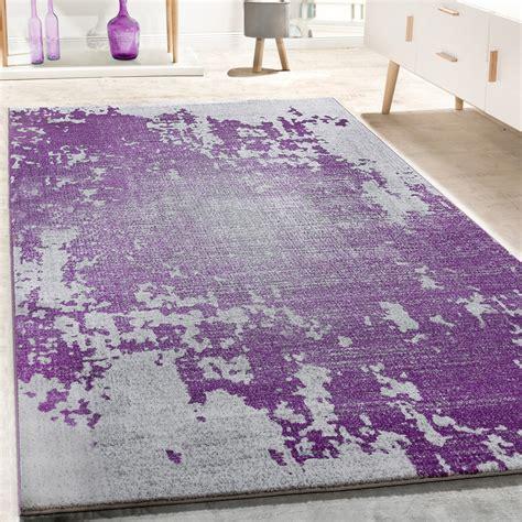 designer teppich vintage grau lila teppich de