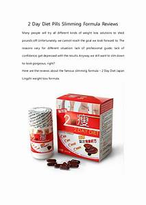 2 Day Diet Pills Slimming Formula Reviews