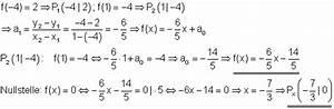 Schnittpunkt Zweier Parabeln Berechnen : l sungen lineare funktionen vbka ii ~ Themetempest.com Abrechnung