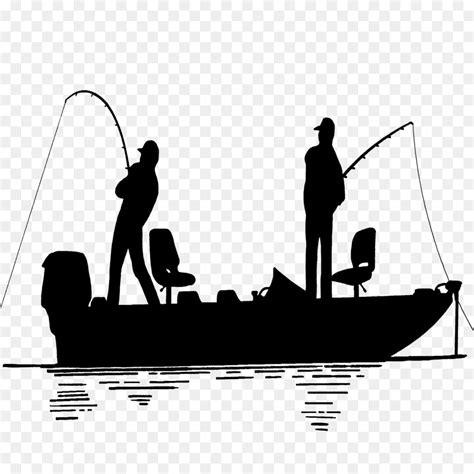 bass fishing png black  white  bass fishing black