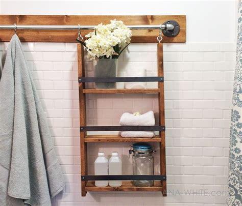 bathroom shelf plans bathroom cabinet plans