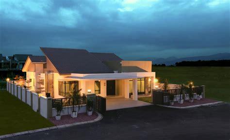 House Plan Single Storey Bungalow
