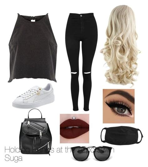 U0026quot;Bts inspired outfitsu0026quot; by rachelullmann03 on Polyvore featuring River Island Topshop Marc ...