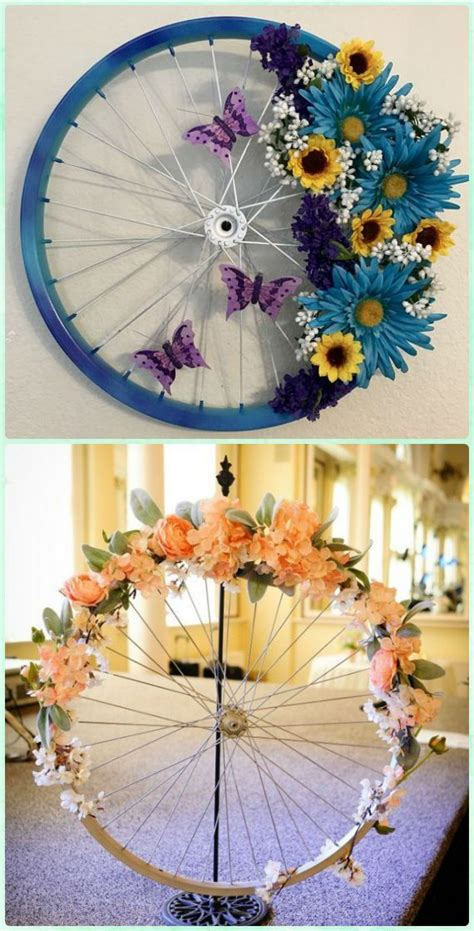 Diy Handmade Home Decorations Reuse Recycle 3 by Diy Ways To Recycle Bike Rims Ideas And