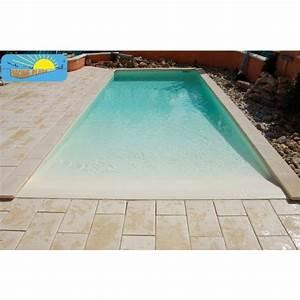 piscine avec plage immergee en pente douce par piscine plager With piscine avec plage immergee