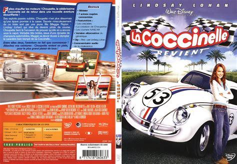 la coccinelle du label ip jaquette dvd de la coccinelle revient slim v2 cin 233 ma