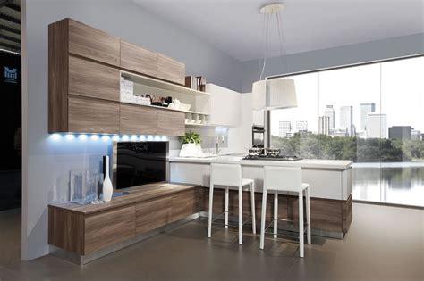 cuisine bois contemporaine cuisine bois et blanc recherche cuisine